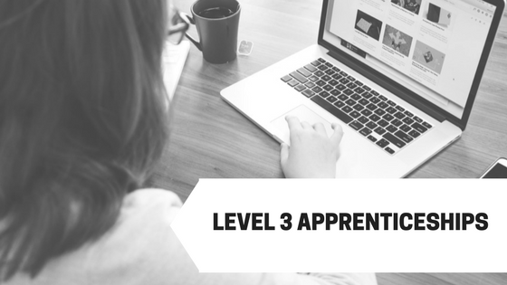 Level 3 apprenticeships in management at the square metre