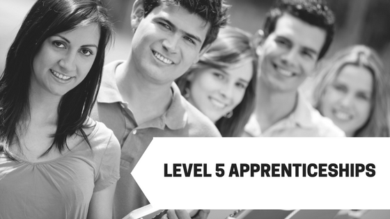 Level 5 apprenticeships are available through the square metre