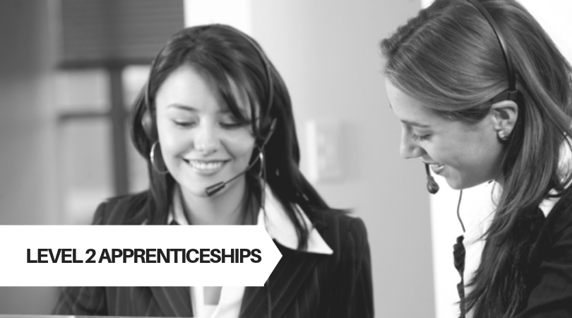 Level 2 Customer Service Apprenticeship